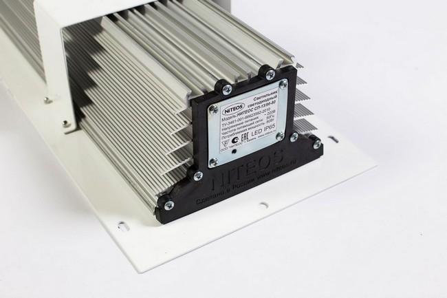 Светодиодный светильник для АЗС NT-OIL 80Вт Л с линзами