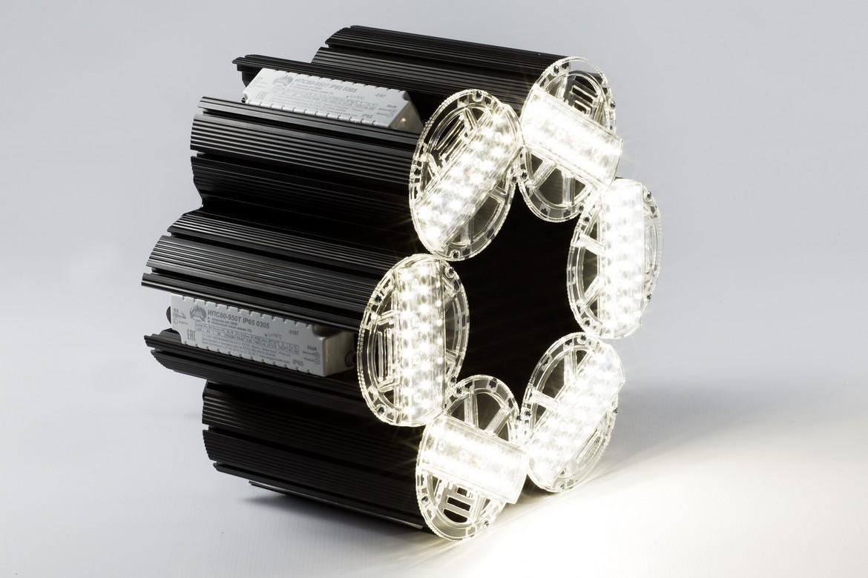 Промышленный подвесной светильник с линзамиX-RAY 300 Л