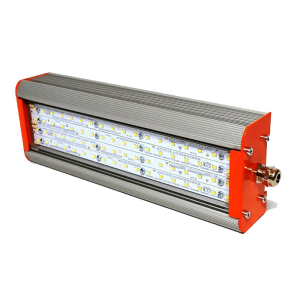 Взрывозащищенный аварийный светодиодный светильник Вега 1Ex 50Вт