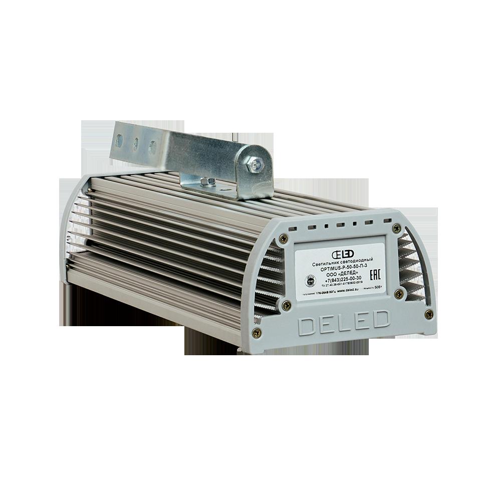 Промышленный светодиодный светильник со вторичной оптикой OPTIMUS-P1-40 OPTIC