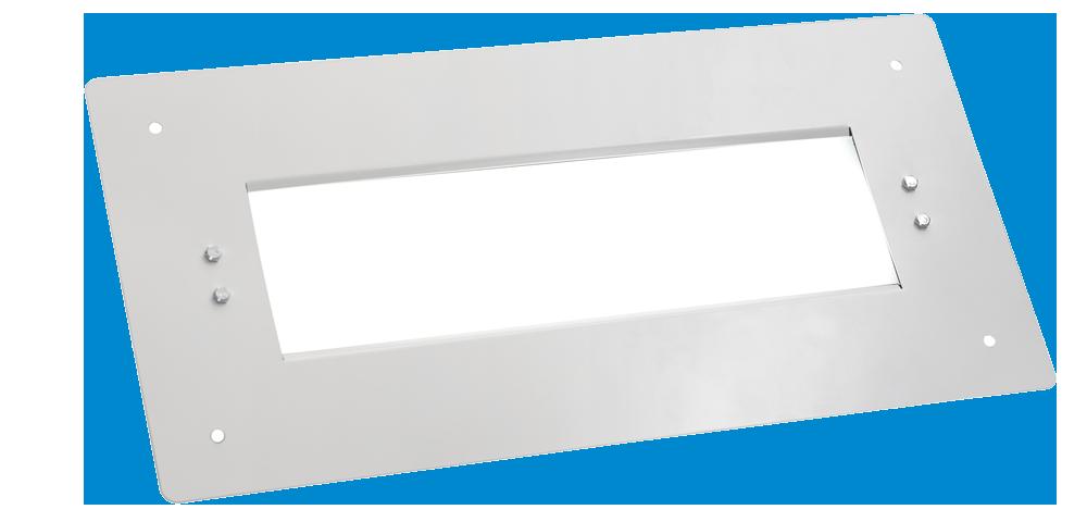 Cветодиодный светильник для АЗС со вторичной оптикой OPTIMA-РS-053-55-50