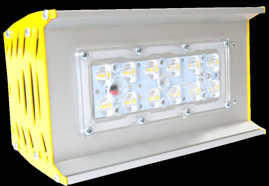Промышленный светодиодный светильник со вторичной оптикой OPTIMA-P-V1-053-110-50
