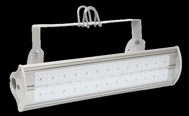 Промышленный светодиодный светильник со вторичной оптикой MIRAGE-P1-240 OPTIC