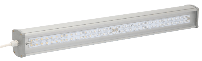 Промышленный светодиодный светильник со вторичной оптикой LONG-P1-60 OPTIC