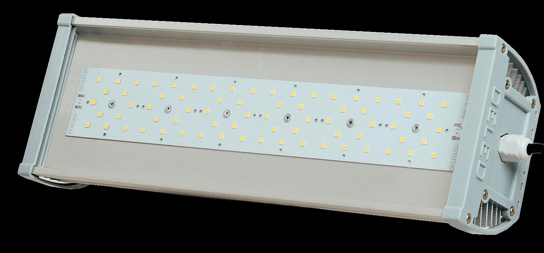 Промышленный светодиодный светильник со вторичной оптикой OPTIMUS-P1-240 OPTIC