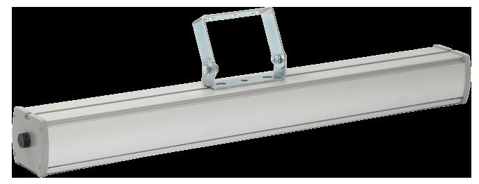 Промышленный светодиодный светильник со вторичной оптикой LONG-P1-40 OPTIC