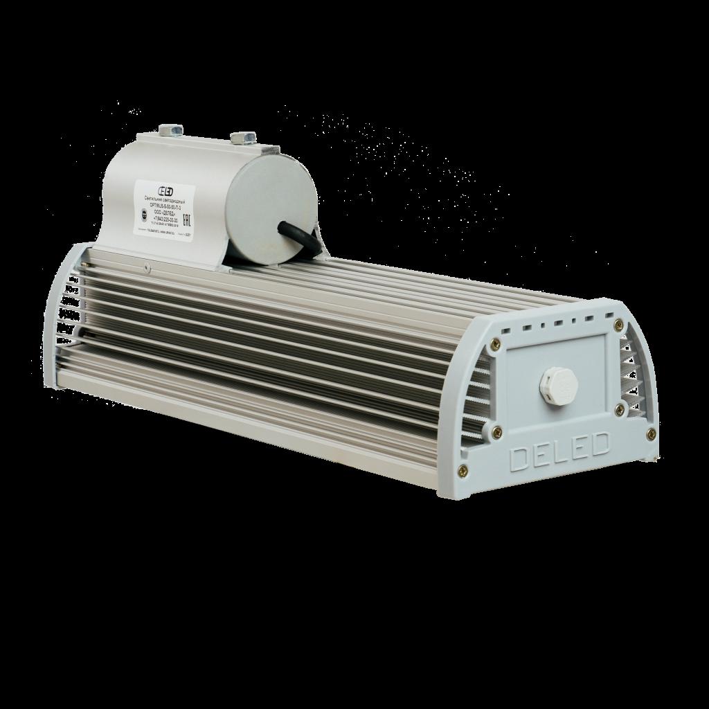 Уличный светодиодный светильник со вторичной оптикой OPTIMUS-S1-60 OPTIC
