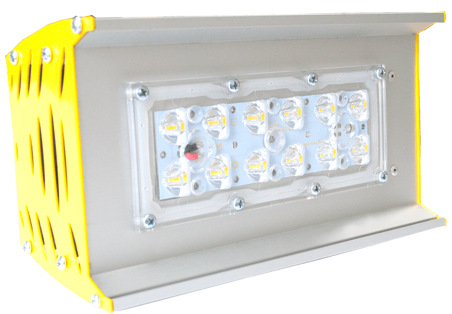 Промышленный светодиодный светильник со вторичной оптикой OPTIMA-P-V1-053-84-50