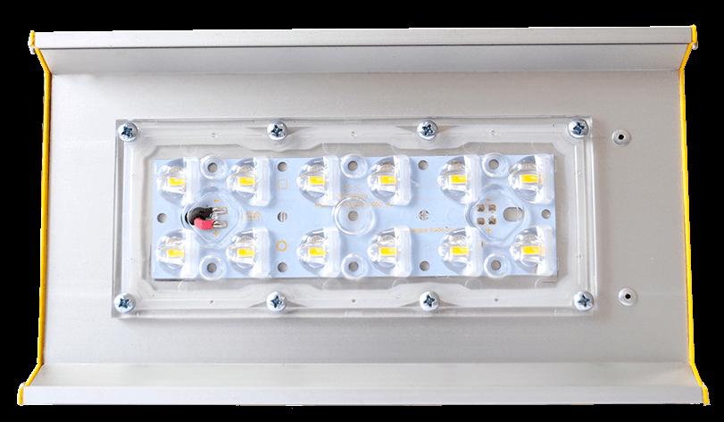 Промышленный светодиодный светильник со вторичной оптикой OPTIMA-P-V1-053-160-50