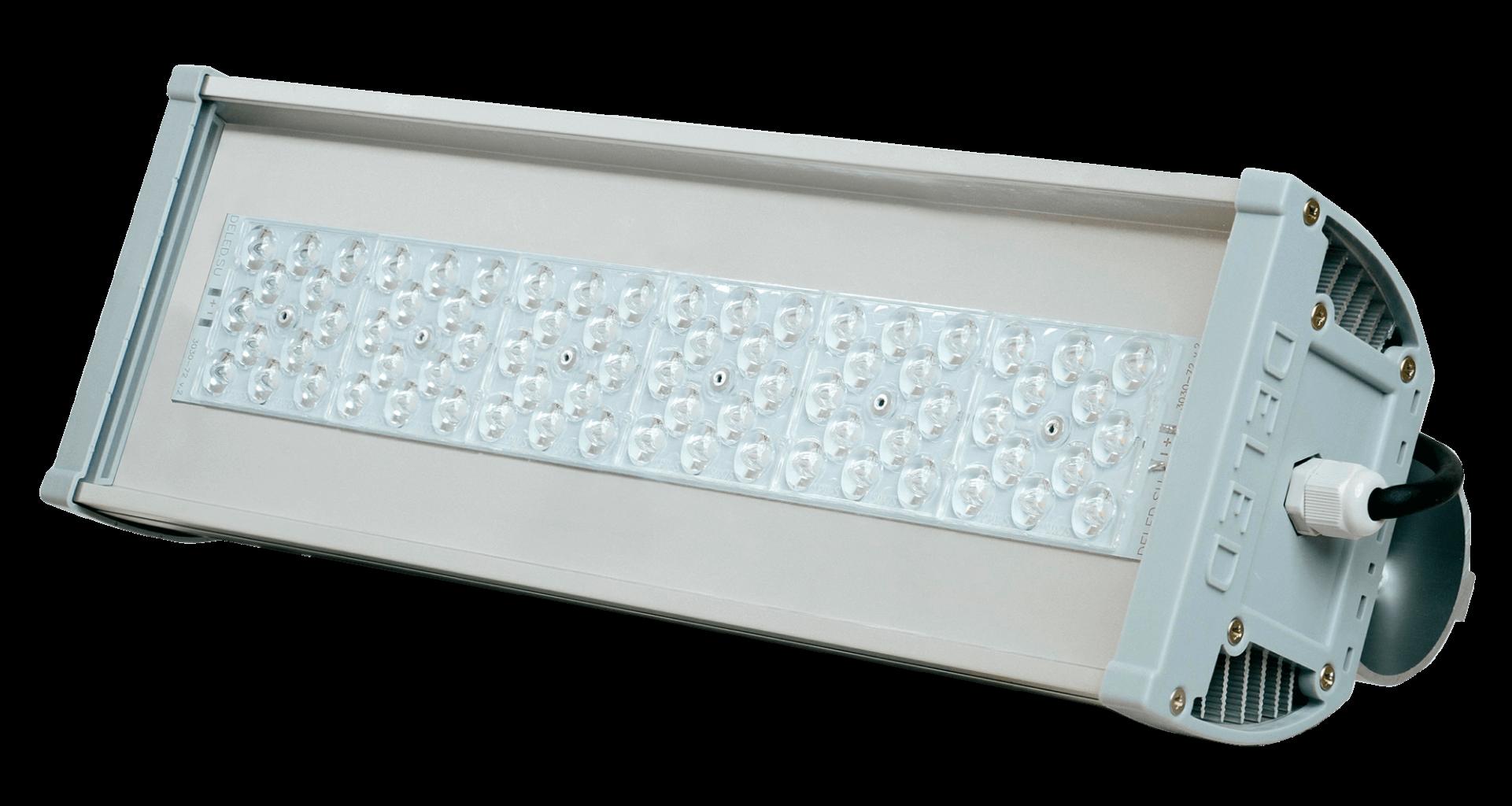 Уличный светодиодный светильник со вторичной оптикой OPTIMUS-S1-50 OPTIC