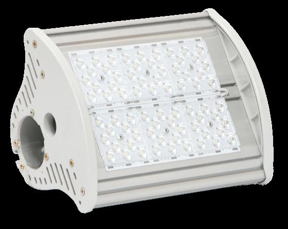 Промышленный светодиодный светильник со вторичной оптикой MIRAGE-P1-60 OPTIC
