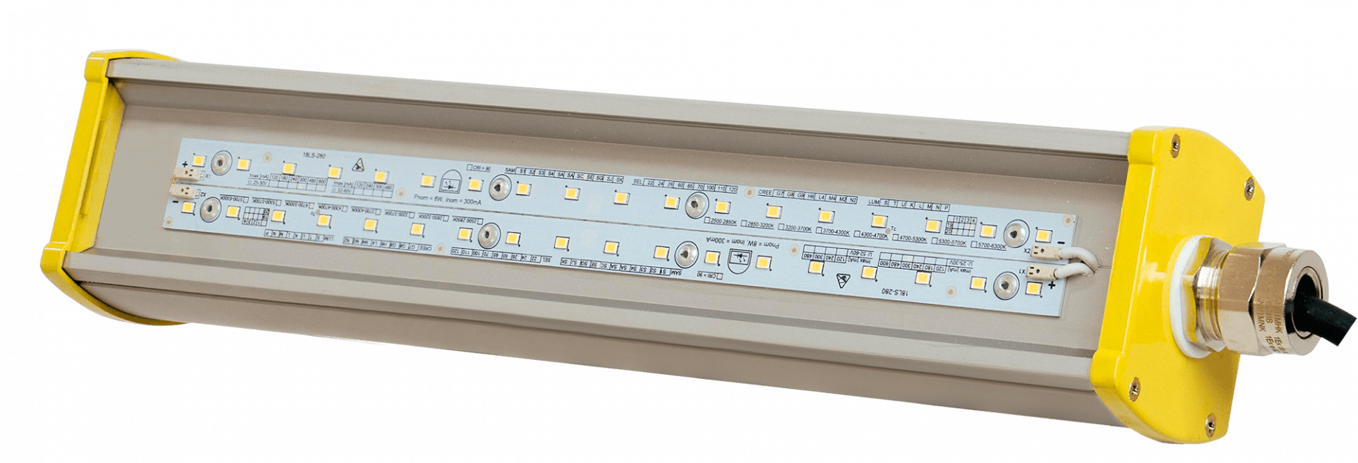 Взрывозащищенный светодиодный светильник LONG-Ex-30 L0,9