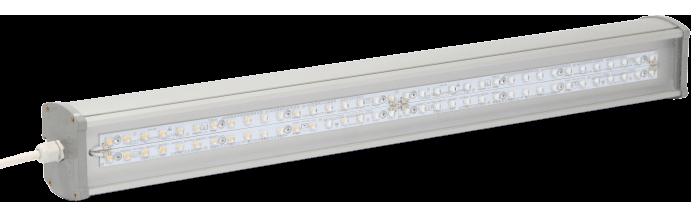 Промышленный светодиодный светильник со вторичной оптикой LONG-P1-80 OPTIC