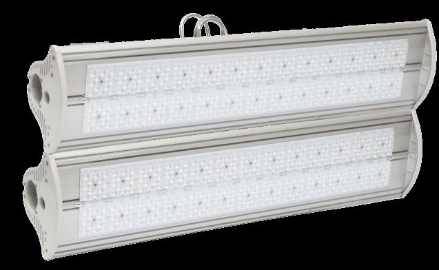 Промышленный светодиодный светильник со вторичной оптикой MIRAGE-P2-280 OPTIC