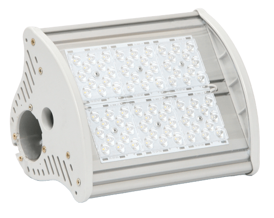 Промышленный светодиодный светильник со вторичной оптикой MIRAGE-P1-50 OPTIC